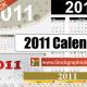 Calendar Inspiration For 2011