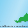 Free Vector: Malaysia Map