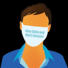 Free Vector: Man in Facial Mask