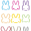 Free Vector: Rabbit Smiley