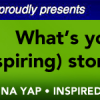 Featured in What's Your (INspiring) Story by QuaChee