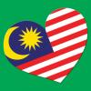 Free Vector: Heart Malaysia Icon
