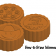 Illustrator CS4: How to Draw Mooncakes