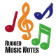 Free Vector: Rugged Music Notes