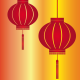 Free Vector: Red Lantern for Chinese New Year