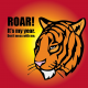Free Vector: ROAR! Tiger Head Vector for All!