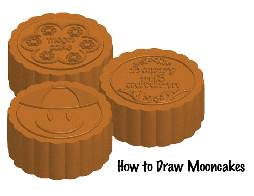 Cybermate s Dungeon   Illustrator CS4: How to Draw Mooncakes