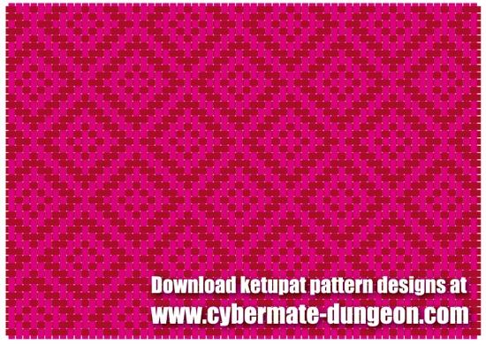 Ketupat Pattern Wallpaper Vector Lebaran Fotogambar